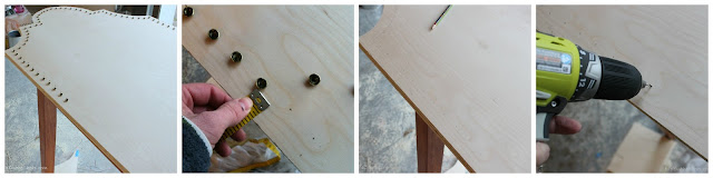 Headboard Tutorial via DIYOntheCheap.com