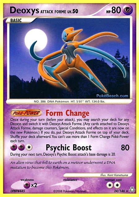 pokemon deoxys card