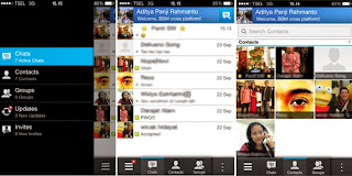what do you think? bbm using iphone