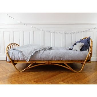 Moon To Moon Vintage Rattan Toddler Beds