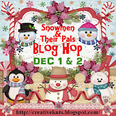 Snowmen & Their Pals Blog Hop