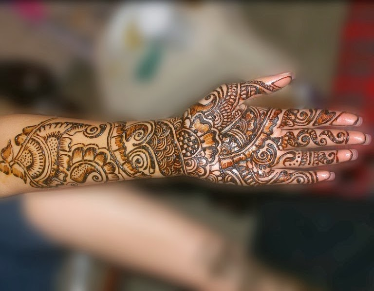 Mehndi Bridal Free Download : Bridal mehndi designs stylish hand