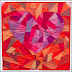 Fragmented Heart, Or Rubies For A Ruby - Blogger's Quilt Festival Original Design