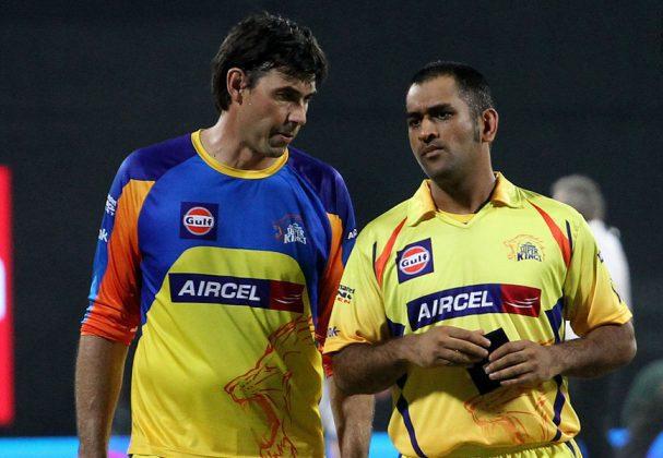 Stephen-Fleming-MS-Dhoni-CSK-IPL-2013