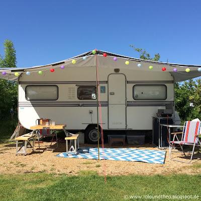 lolo und theo urlaub im wohnwagen von praktischem und. Black Bedroom Furniture Sets. Home Design Ideas