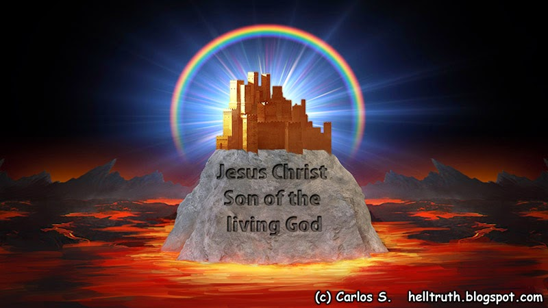 Hell Truth: That thou art Peter, and upon this rock I will build ...