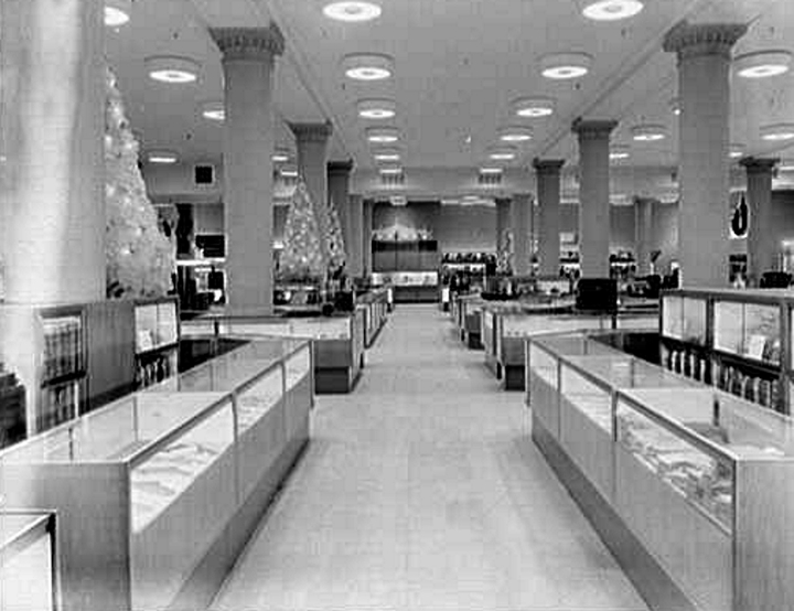 In 1951 Gimbels Completed A Remodel Led By Raymond Loewy And Called This The Most Alluring Street Floor That Walked Ways Of Beauty