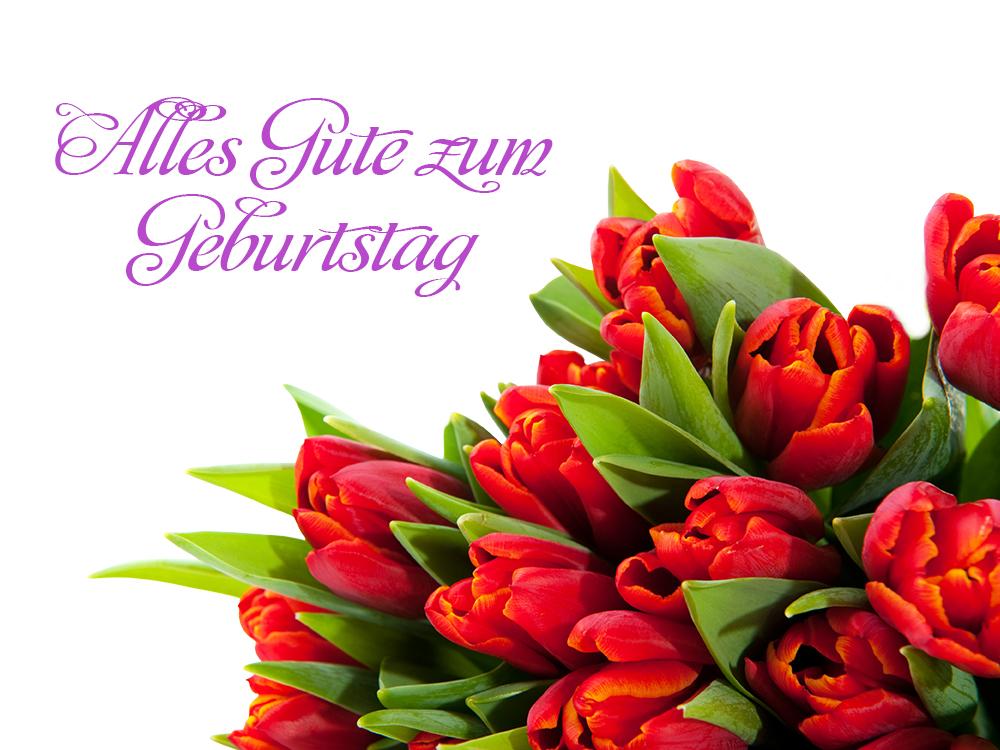 Sag S Mit Blumen Die Besten Wunsche Zum Geburtstag