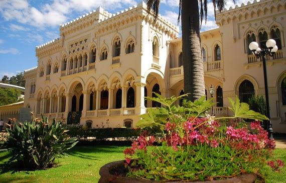 El Palacio Vergara en Viña del Mar, Chile