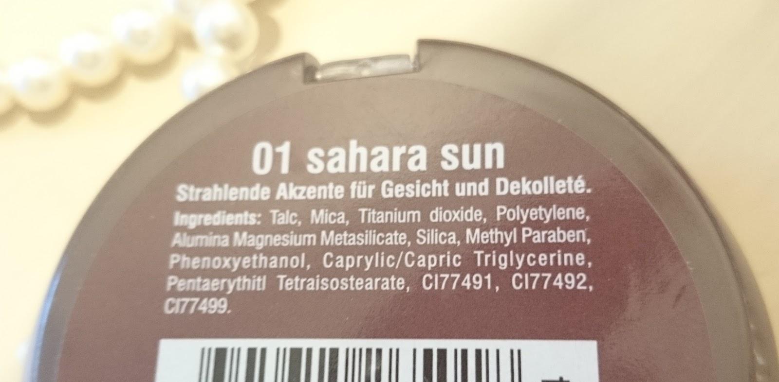 Rival de Loop Young Baked Bronzer 01 Sahara Sun