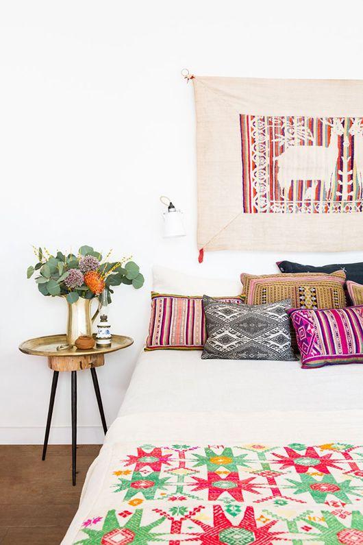 dormitorios-decoracion-verano-estampado-etnico