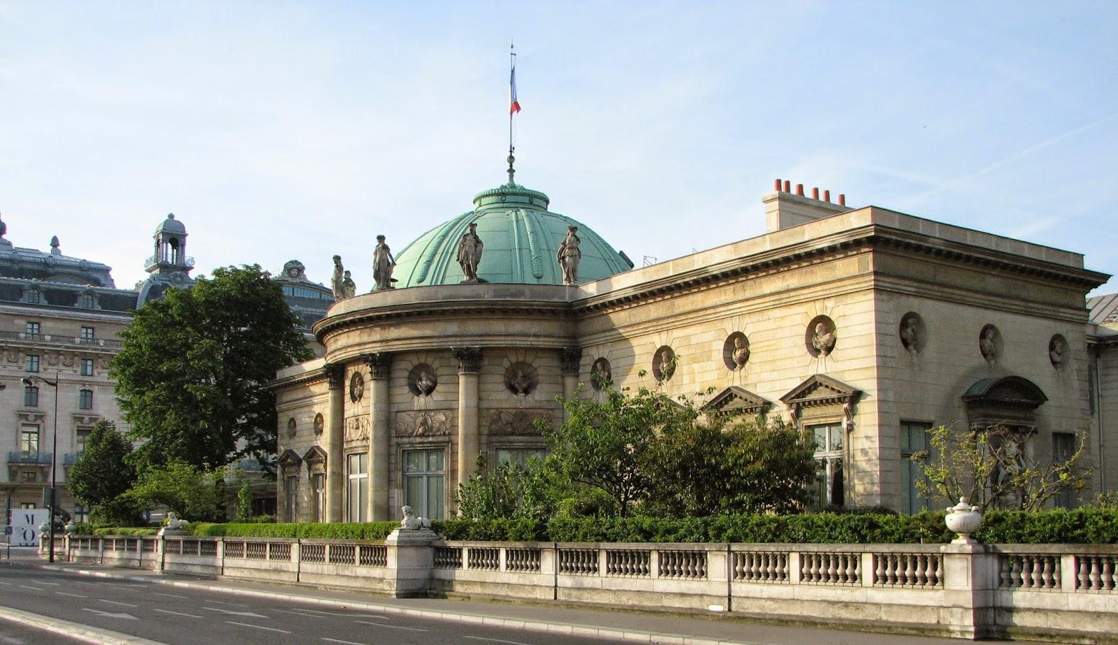Architecture Hotel De Salm Paris