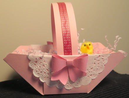 Easter basket zena kennedy independant stampin up demonstrator