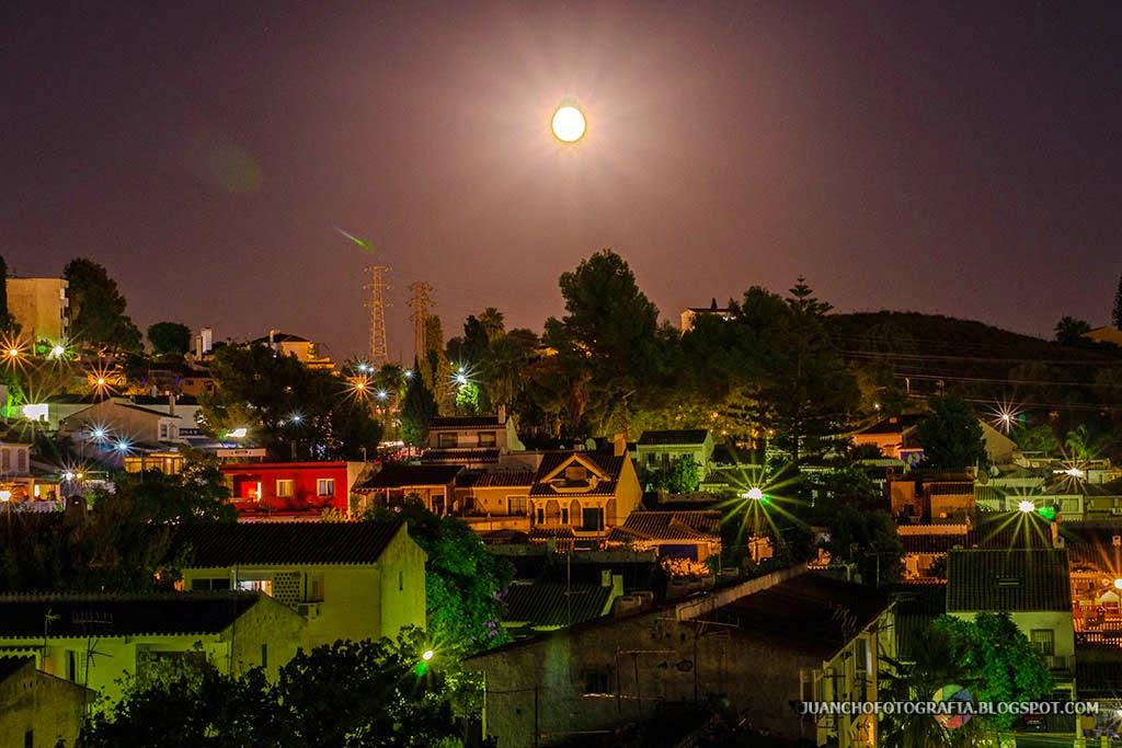 Superluna en Nueva Andalucía