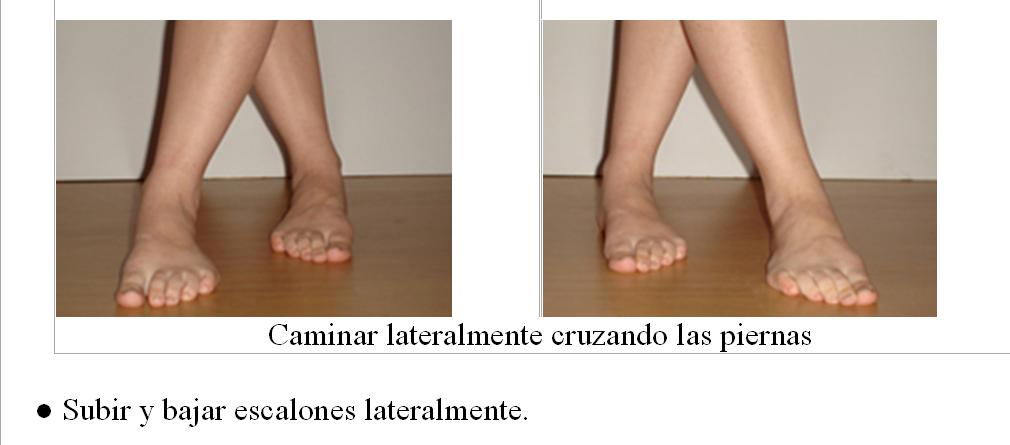 ejercicio esguince tobillo: