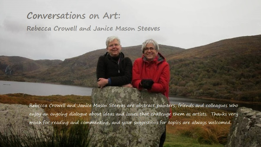 Conversations on Art:     Rebecca Crowell & Janice Mason Steeves