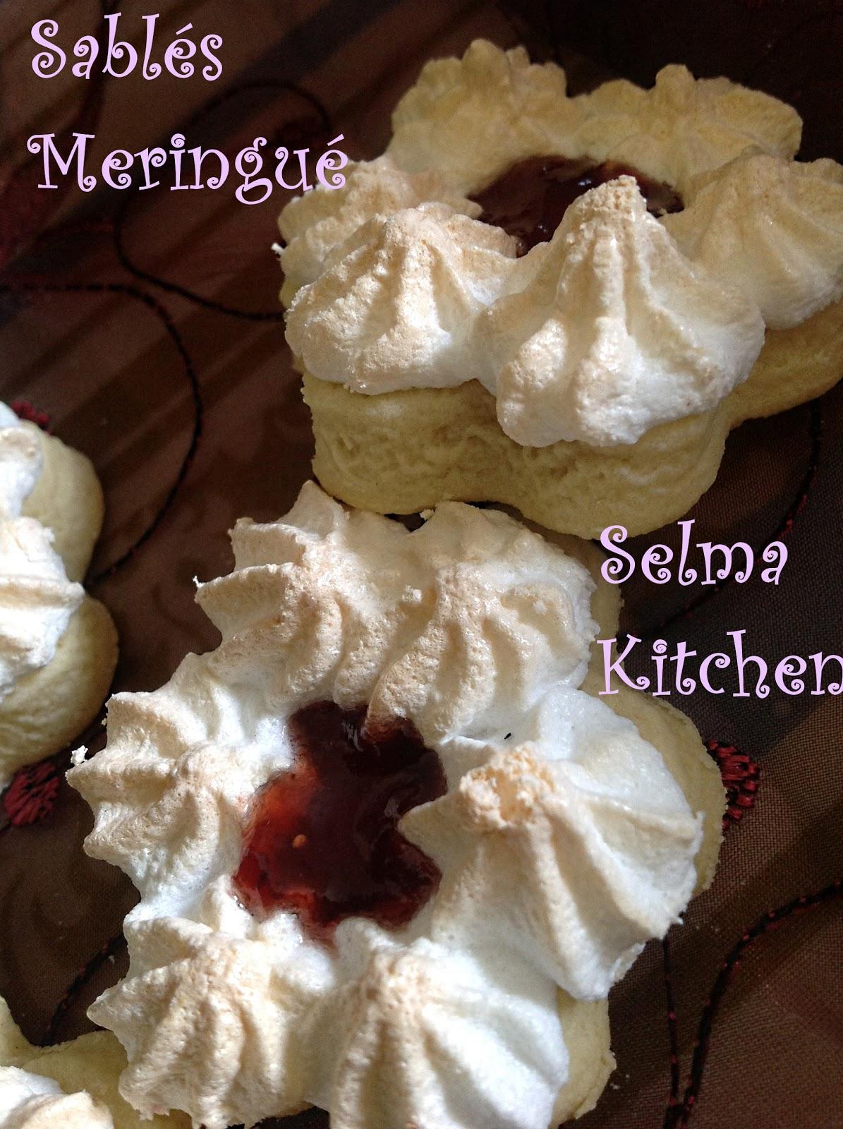 Selma kitchen sabl s meringu s a la confiture - Recette sable confiture maizena ...