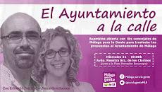 El Ayuntamiento en la Calle en Bailen-Miraflores. IU-Málaga para la Gente