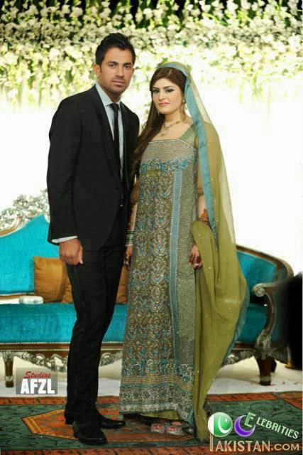 Today is Cricketer Wahab Riaz and Zainab Shadi Ceremony