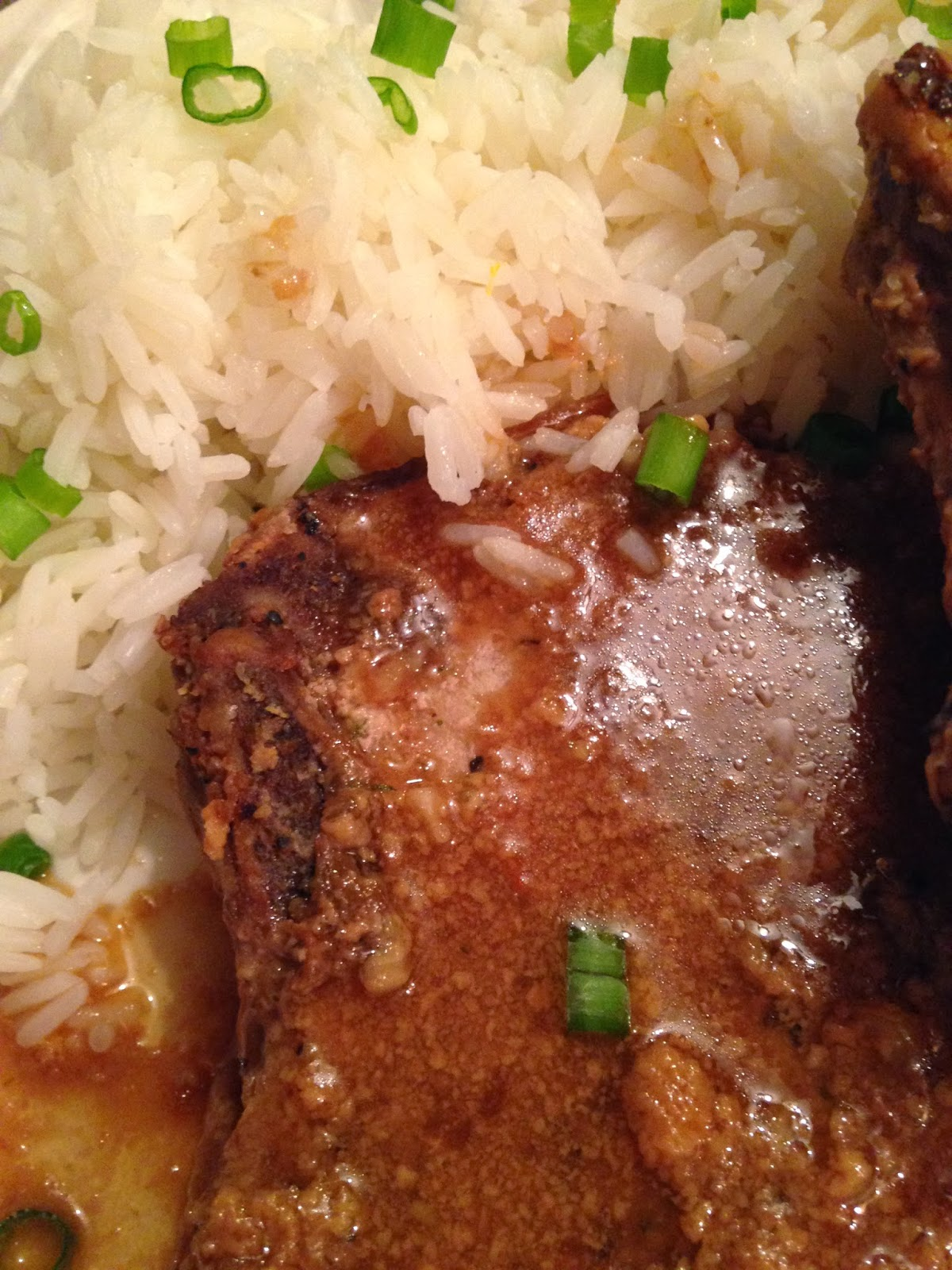 praline pork chops