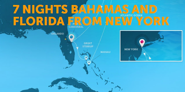 7 nights Bahamas and Florida
