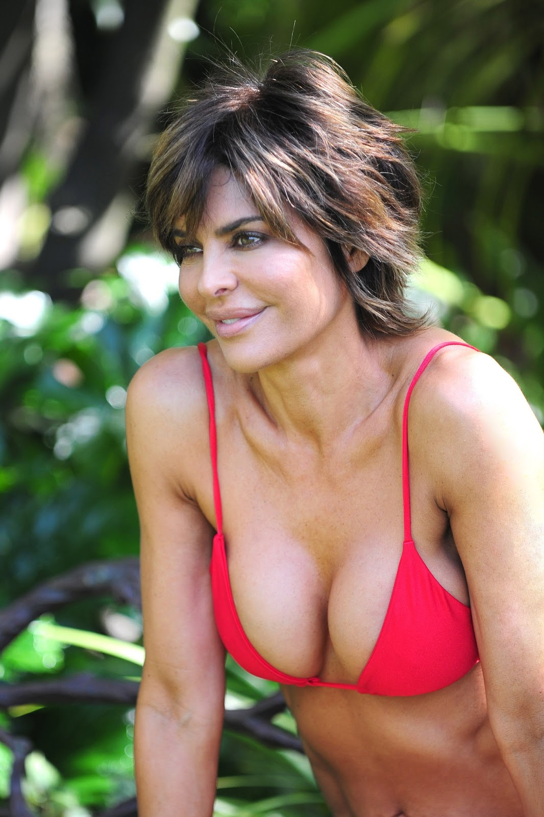 All Lisa rinna hot think, that