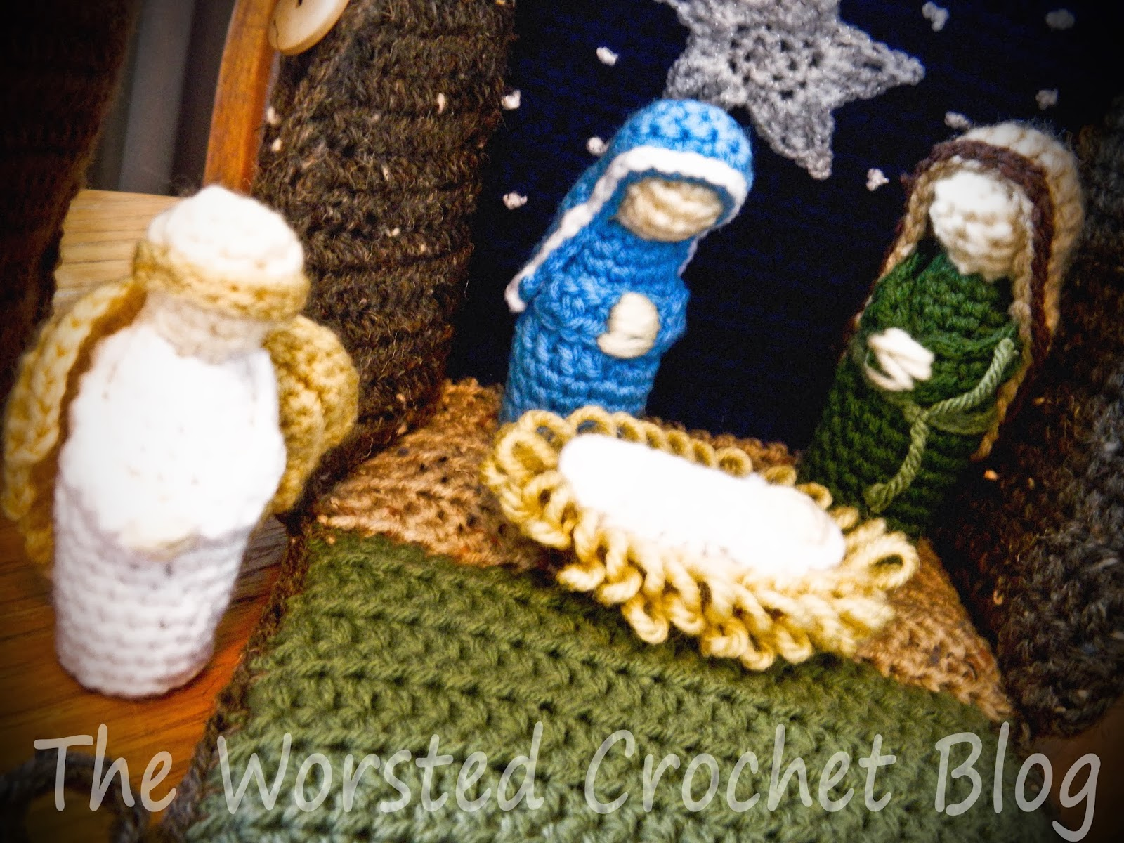 The Worsted Crochet Blog: Crochet Nativity Set (Part One)