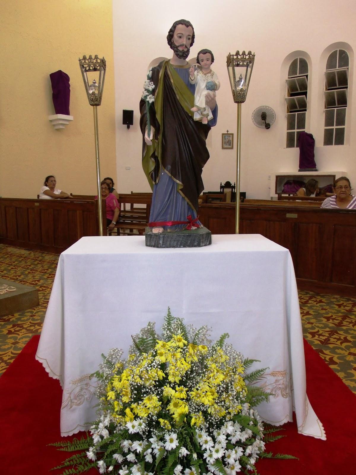 Missa de abertura do novenário em honra a São José