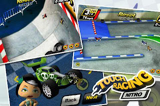 Touch Racing Nitro Android Game