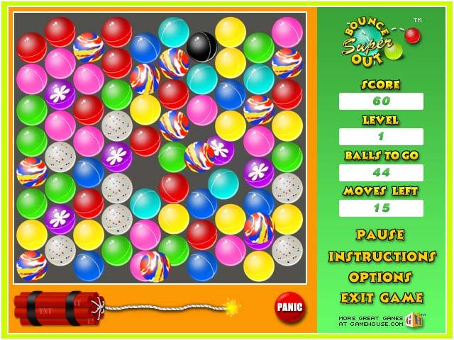 Super Bounce Out Game Download | Screenshot #2 | ChocoSnow.com
