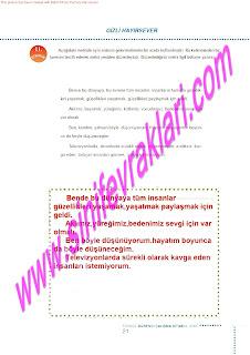 6.Sinif  Turkce Doku Yayinlari Ogrenci Calisma Kitabi Sayfa 21
