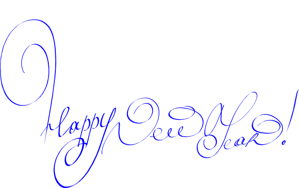 Happy New Year Clip Arts 2014 - Free Download