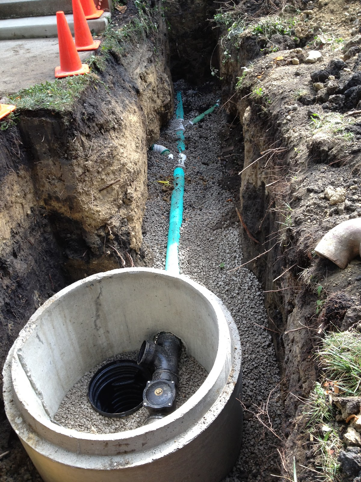 Reliance plumbing flood control and old clay tile sewer for Residential sewer systems