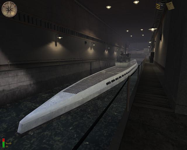 Medal of Honor: Allied Assault submarine dock