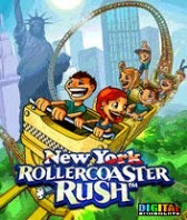 New York Roller Coaster Rush free java games 128x160
