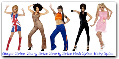 Spice Girls Halloween Costumes  sc 1 st  90s Halloween Costumes & 90s Halloween Costumes: 90s Halloween Costumes