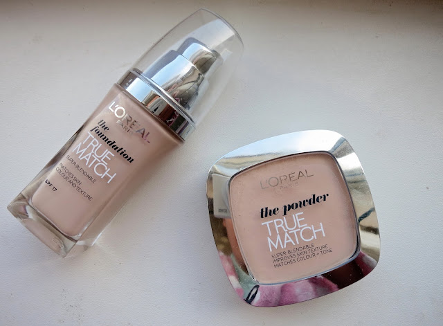 L'oréal True Match Foundation & Powder