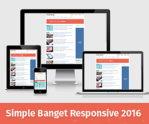 Simple Banget Responsive Blogger Template 2016