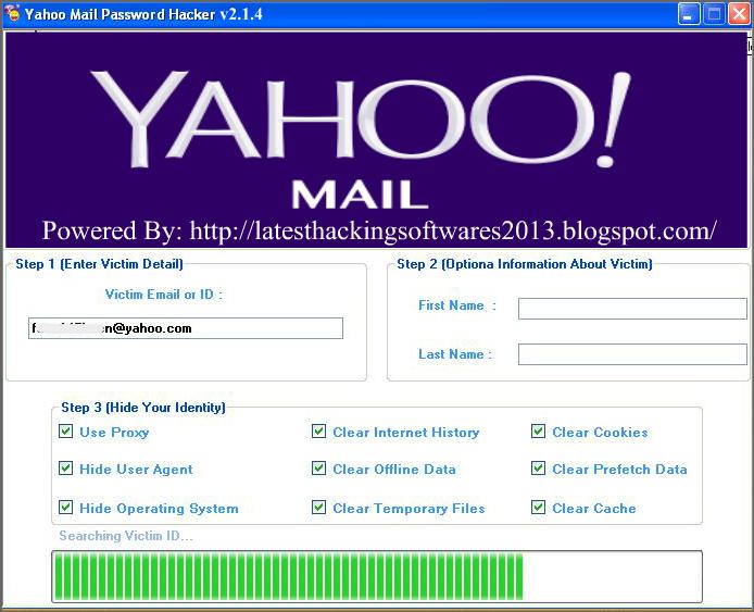 Yahoo password - 24b