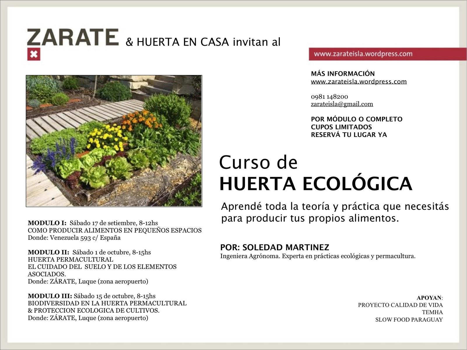 permacultura paraguay curso de huertas ecol gicas
