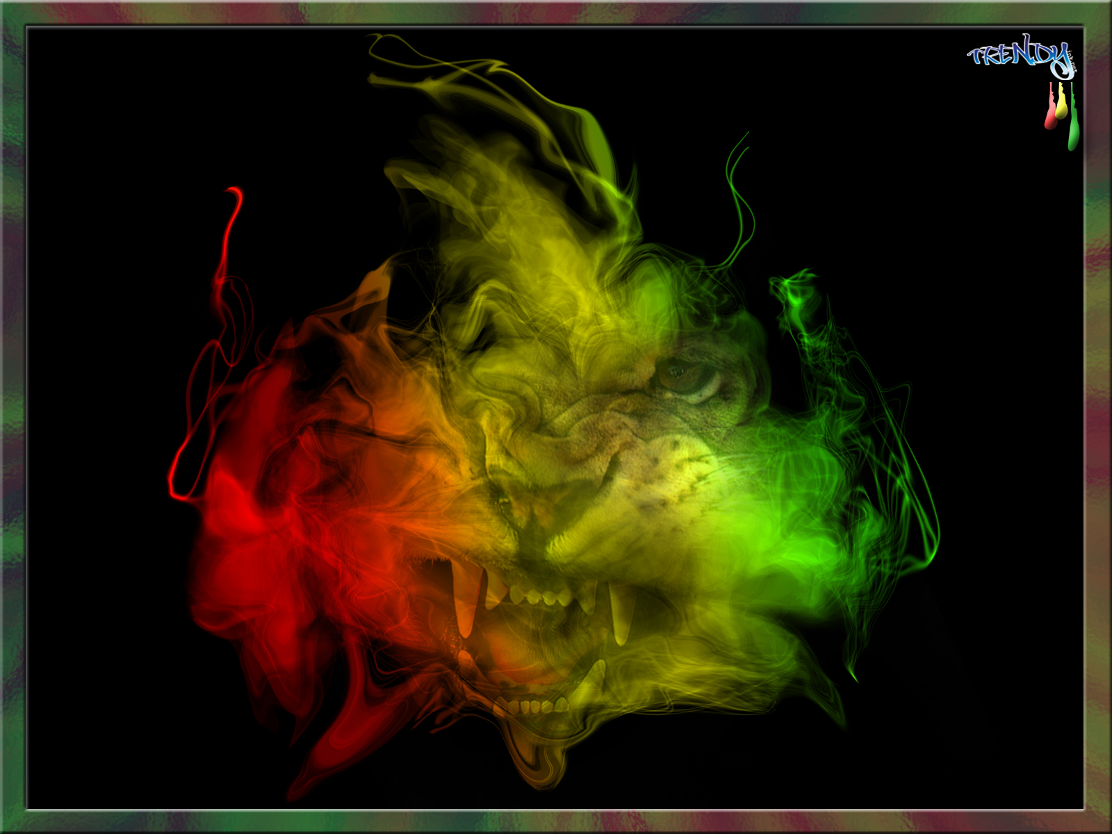 My Top Collection Rasta Lion Wallpaper 2