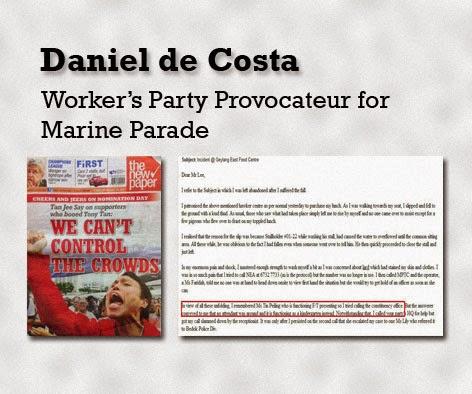 Daniel de Costa Worker Party Agent