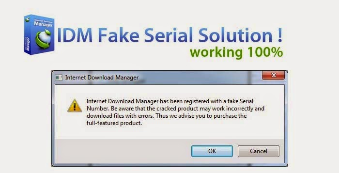 internet download manager registered fake serial number