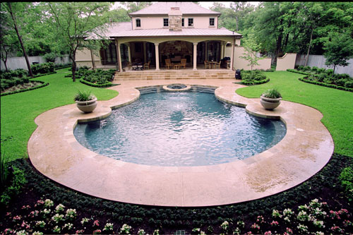 Birdie pearl pool house inspirations for Pool design regrets