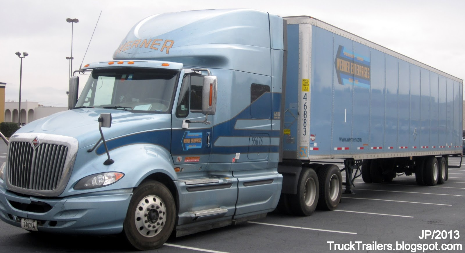 TRUCK TRAILER Transport Express Freight Logistic Diesel Mack Peterbilt Kenworth Volvo ...