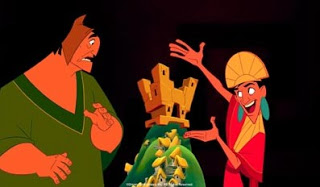 Kuzcio Pacha villa The Emperor's New Groove 2000 animatedfilmreviews.blogspot.com