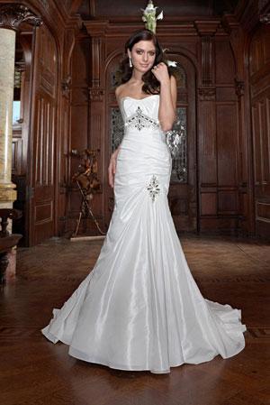 Vestido de novia perfecto para la novia delgada - Novias y Casamientos