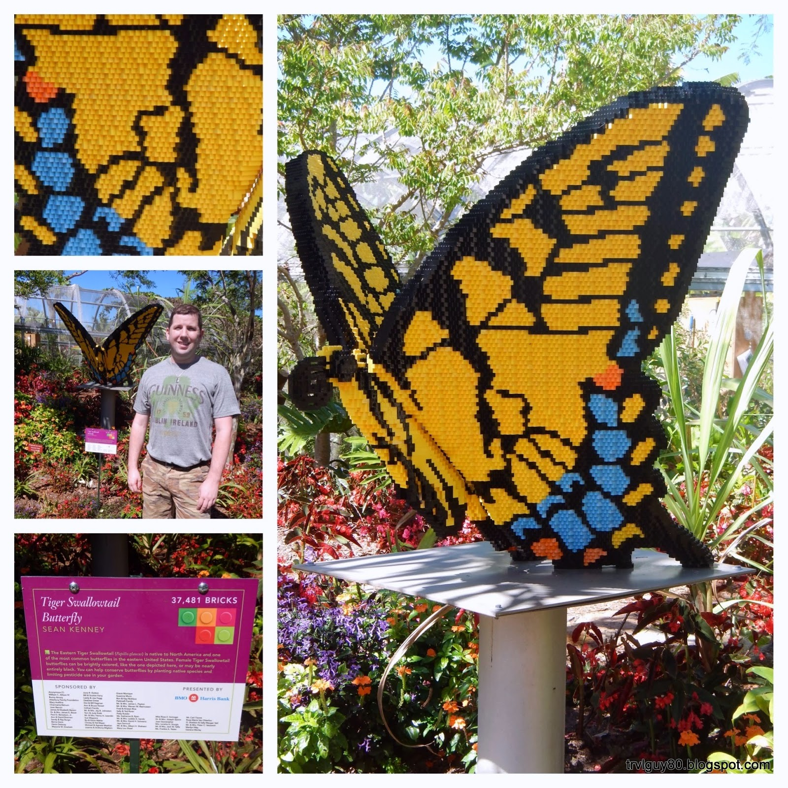 the andrew project nature connects art with lego bricks at the