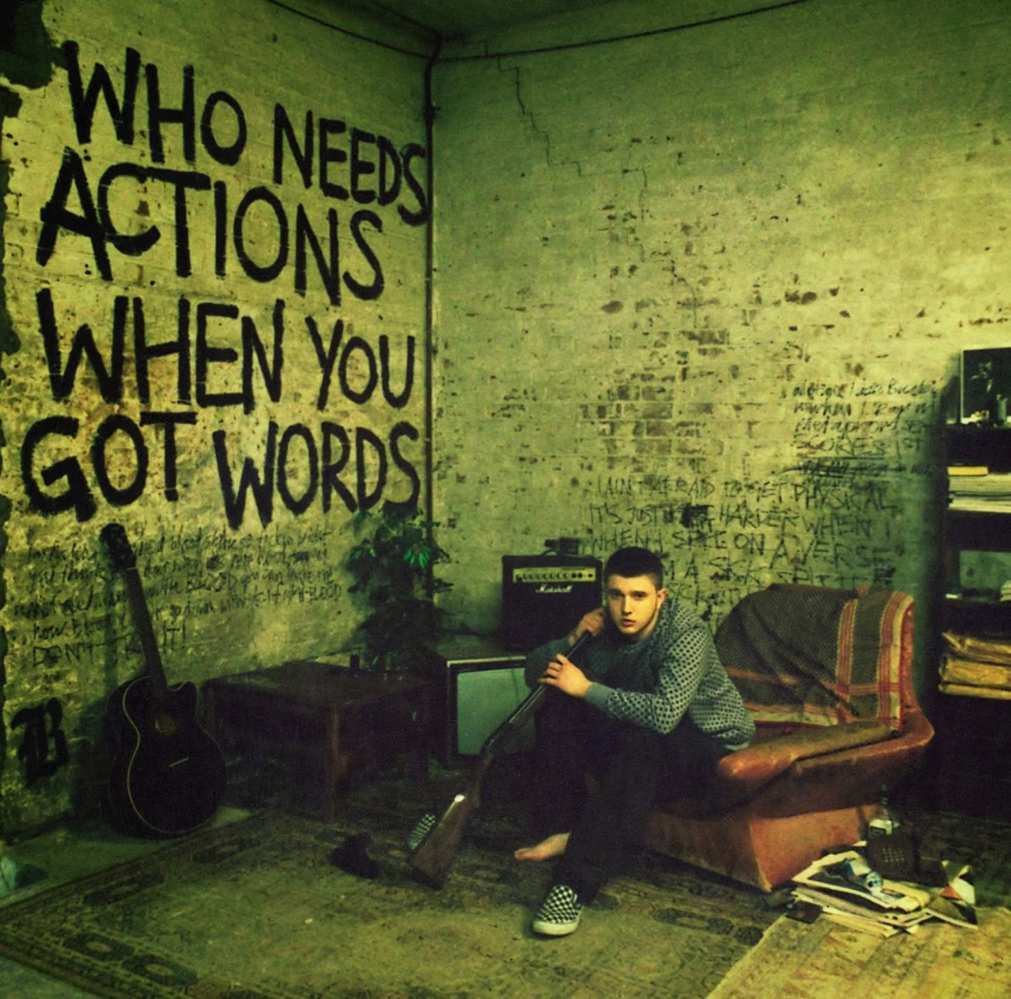 Album Reviews - Who Needs Actions When You Got Words by Plan B