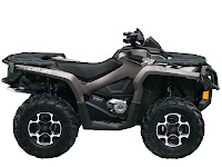 2013 Can-Am Outlander XT 650 ATV pictures 4